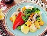 旨味たっぷり春のグリル野菜