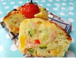 夏野菜のカップケーク・サレ