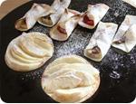 餃子の皮で作るパイ数種